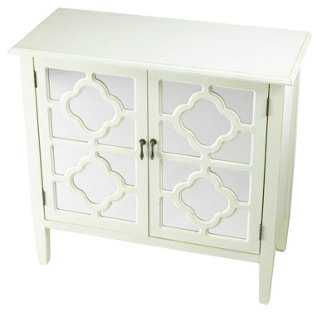 Sayre 2-Door Mirrored Cabinet - One Kings Lane