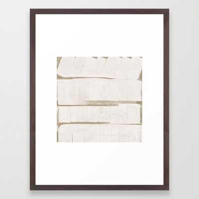 """FRAMED ART PRINT/ CONSERVATION WALNUT MEDIUM (GALLERY) (20"""" X 26"""") - Society6"""