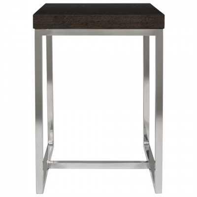 Turner Square End Table - Domino