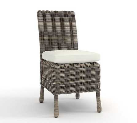HUNTINGTON ALL-WEATHER WICKER DINING CHAIR - Pottery Barn