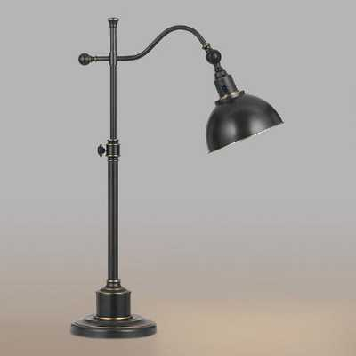 Oil-Rubbed Bronze Porter Task Table Lamp - World Market/Cost Plus