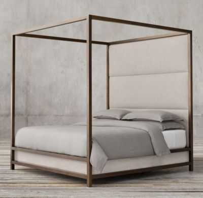 MONTROSE HIGH PANEL FOUR-POSTER BED - RH