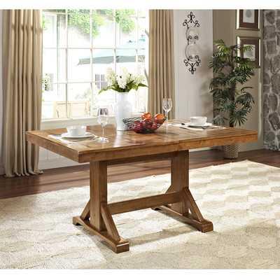Extendable Dining Table - Brown - Wayfair