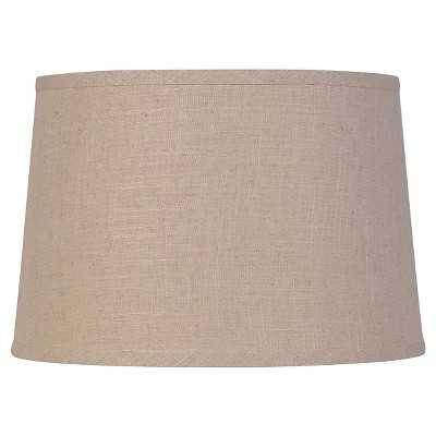 Large Cream Textured Linen Shade - Target