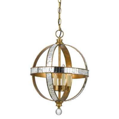 Passe 4 Light Globe Pendant - Wayfair