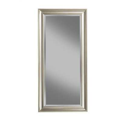 Full Length Leaning Mirror - Champagne Silver - Wayfair