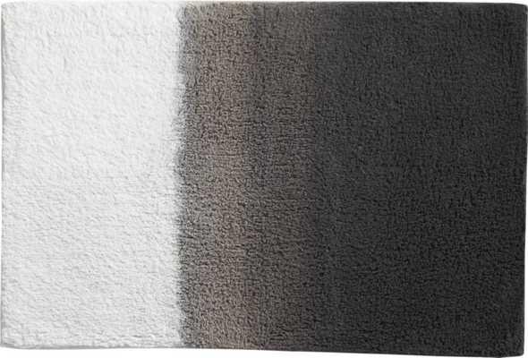 ombre bath mat - CB2