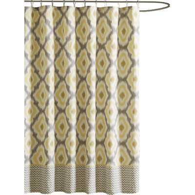 Ankara Cotton Shower Curtain - Wayfair
