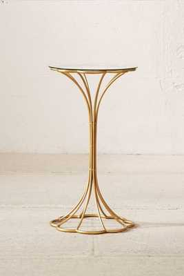 Lotus Side Table-Bronze - Urban Outfitters
