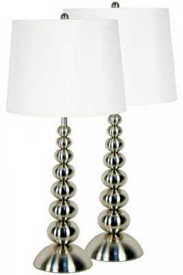 BAUBLES TABLE LAMPS - Home Decorators