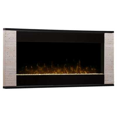 Strata Wall Mounted Electric Fireplace - Wayfair