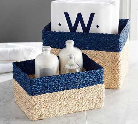 Libby Woven Basket, Set of 2 - Pottery Barn