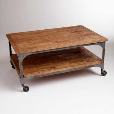 Wood and Metal Aiden Coffee Table - World Market/Cost Plus