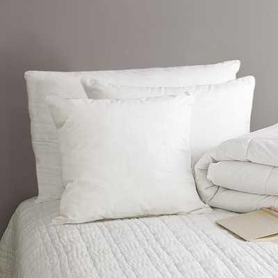 Standard Pillow Insert-Essential-Natural Down - West Elm