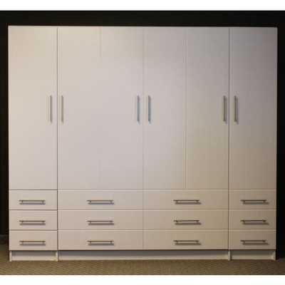Penthouse Murphy Bed with Hutches - bredabeds.com