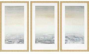 "SABLE ISLAND FRAMED WALL ART - SET OF 3 - 32""H x 18""W x 2""D - Framed - Home Decorators"