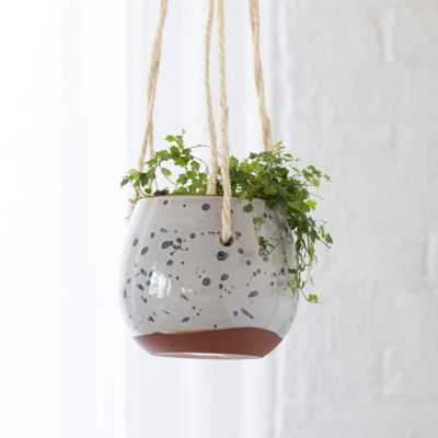Hanging Egg Terracotta Pot - shopterrain.com