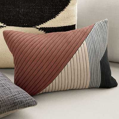 "pata 18""x12"" pillow - CB2"