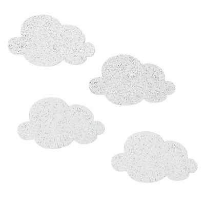 Mini Cloud Corkboards (Set of 4) - Land of Nod