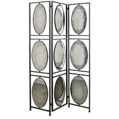 "75"" x 47.52"" 3 Panel Room Divider - Wayfair"