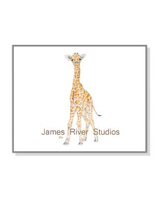 Giraffe Watercolor Print Giraffe Baby Art - unframed - Etsy