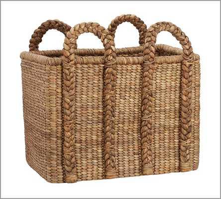 Beachcomber High Rectangular Basket - Pottery Barn