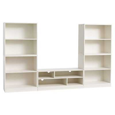 Stack Me Up Tall Media Bookcase Super Set - Pottery Barn Teen