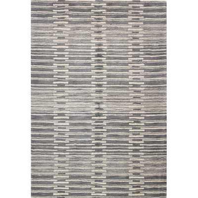 """Ashland Gray Rug - 7'6"""" x 9'6"""" - AllModern"""