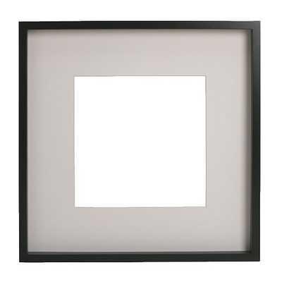 """RIBBA Frame, black - 19 ¾ x 19 ¾ """" - Ikea"""