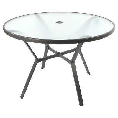 "Glass Dining Table - 40"" - Room Essentialsâ""¢ - Target"