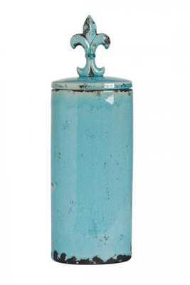 SERAPHINA LIDDED JAR - Home Decorators