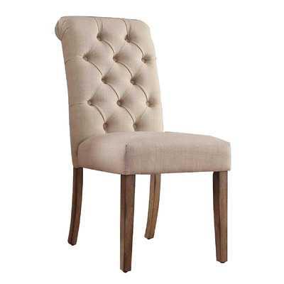 Satine Tufted Side Chair - Wayfair