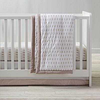 Iconic Crib Sheet (Feather) - Land of Nod