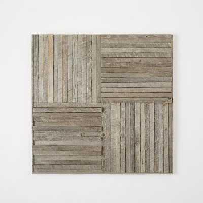 Stikwood Wall Art - Pinwheel - West Elm
