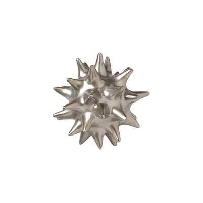 Urchin Matte Silver Objet - Large - AllModern