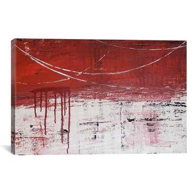 "Decorative Art 'Lithoshpere XXXXIV Painting Print on Canvas- 26"" H x 40""-Unframed - AllModern"