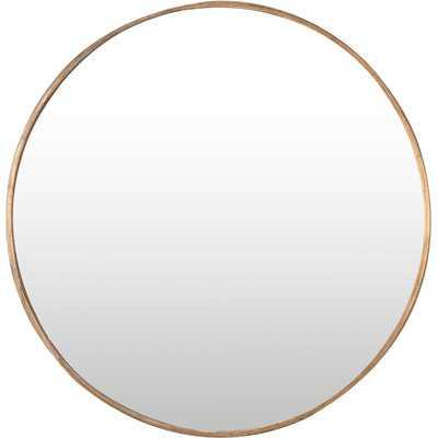 Junius Round Mirror - Wayfair