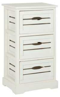 Catherine 3-Drawer Cabinet - One Kings Lane