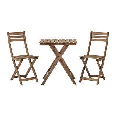 ASKHOLMEN Table+2 chairs - Ikea