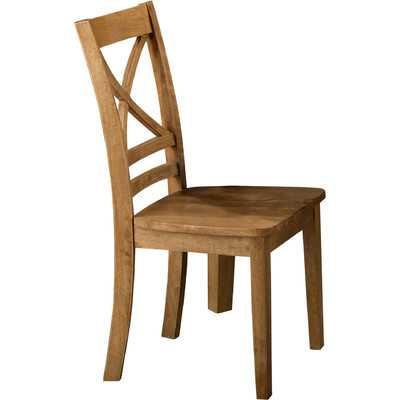 Simplicity Side Chair-Honey - Wayfair