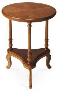 Sawyer Side Table, Honey - One Kings Lane