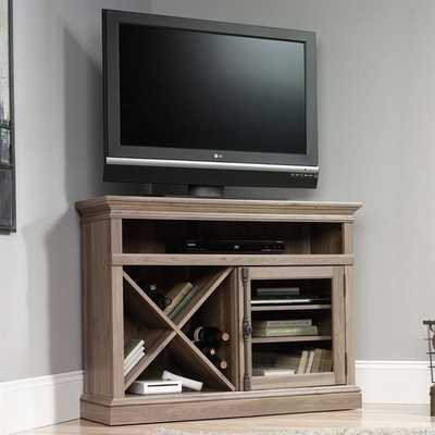 Sauder Barrister Lane Corner Entertainment Stand - cymax.com