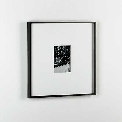 gallery black 5x7 picture frame. - CB2