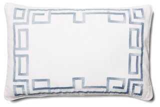 "Corner Key Pillow - 14""x22"" - With Insert - One Kings Lane"