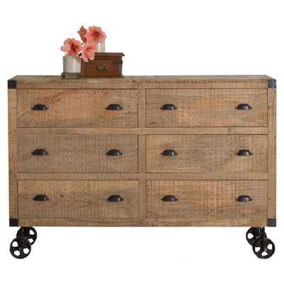 Agra 6 Drawer Dresser - Wayfair