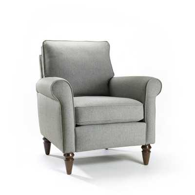 Hartley Chair Perfect Gray - Domino