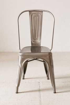 Wren Metal Chair - Dark Grey - Urban Outfitters
