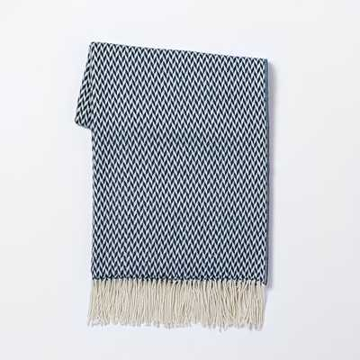 Warmest Throw - Arrow Jacquard - West Elm
