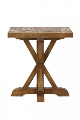CANE END TABLE - Home Decorators