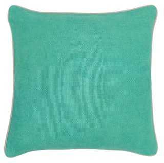 Solid Linen-Blend Pillow - One Kings Lane
